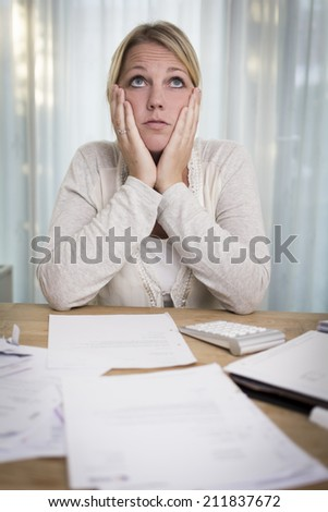 Dreaming of better days - stock photo