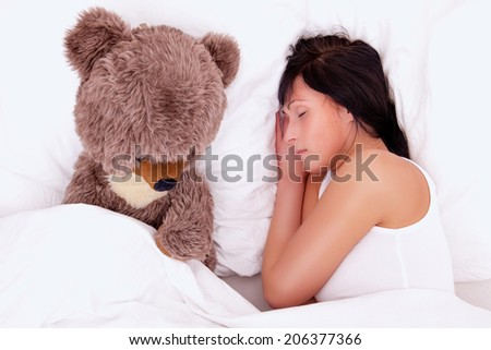 dreaming woman for new boyfriend feeling alone - stock photo