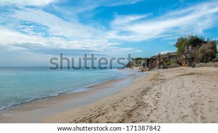 Dreamland Beach - Bali, Indonesia - stock photo