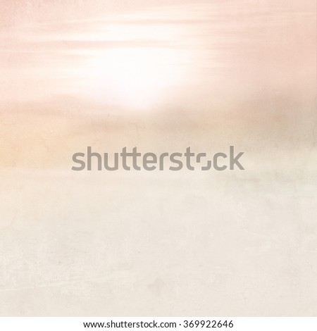 Dreamy background - abstract blurred landscape in soft pink vintage style with color gradient