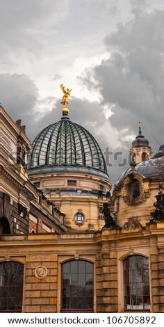Dresden Academy of Fine Arts, Saxony, Germany - stock photo