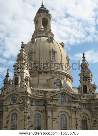 "Dresden ""Church of Our Lady"" - stock photo"