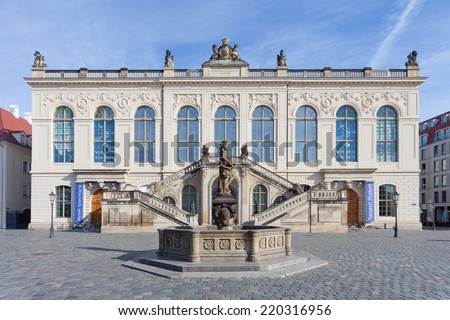 Dresden - Germany - Transport museum - stock photo