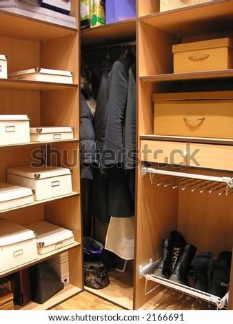 dressing room 2 - stock photo