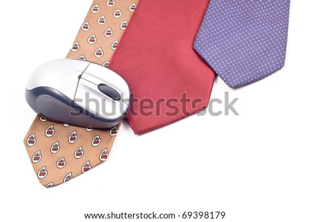 Dressing Up For Work Concept - stock photo