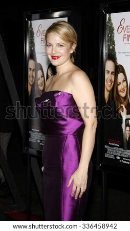 """Drew Barrymore at the AFI FEST 2009 Screening of """"Everybody's Fine"""" held at the Grauman's Chinese Theater in Hollywood, California, United States on November 3, 2009.   - stock photo"""