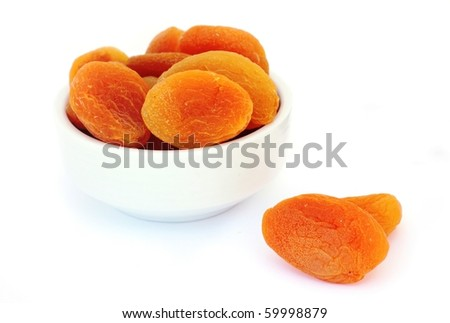 Dried Apricot - stock photo