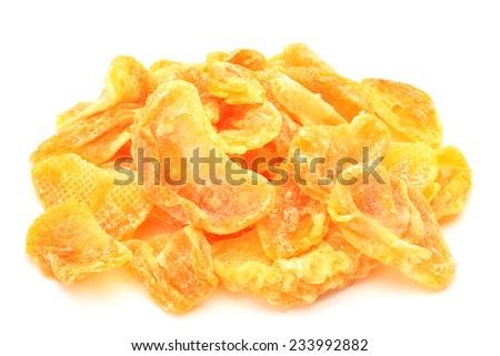 dried fruit of the mandarin orange - stock photo
