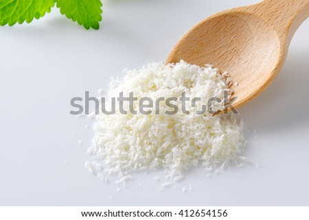 Dried grated unsweetened coconut meat