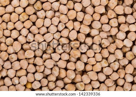 Dried hummus macro texture - stock photo