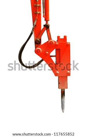 drill concrete machine - stock photo