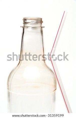 Drink Bottle - stock photo