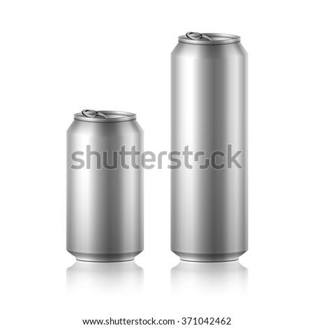 drink foods cola beer aluminum soda  - stock photo