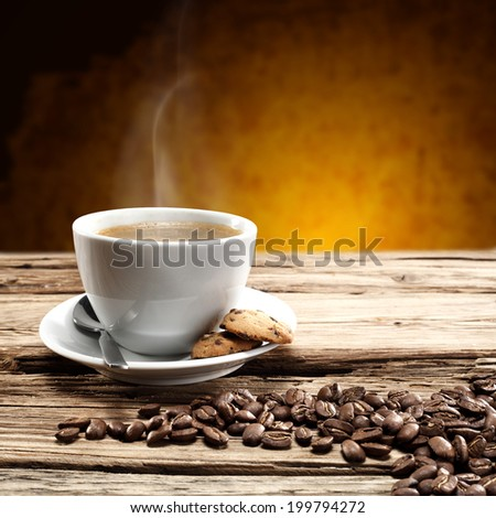 drink of coffee