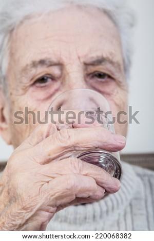 drinking - stock photo