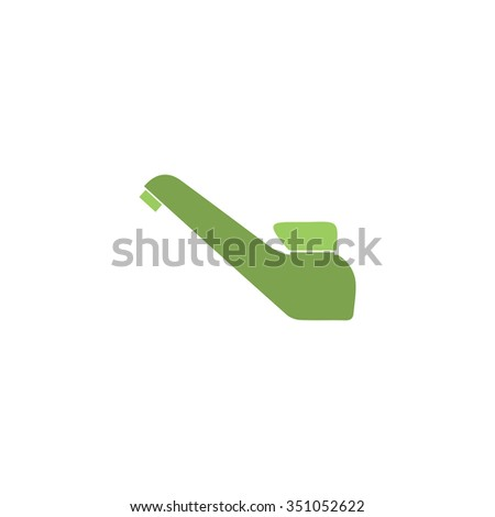 Drinking faucet. Colorful pictogram symbol on white background. Simple icon - stock photo