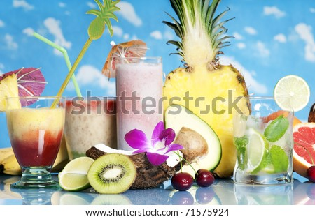 drinks - stock photo