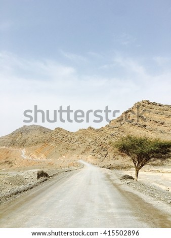 Drive to the fjords of Arabia� in Musandam, Oman