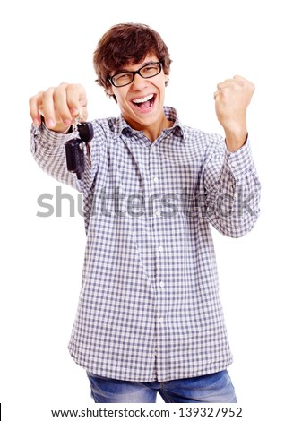 Driver's license obtained - stock photo