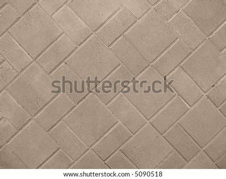 driveway concrete textures - stock photo