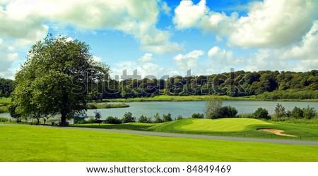 Dromoland Golf Course Co. Clare Ireland - stock photo