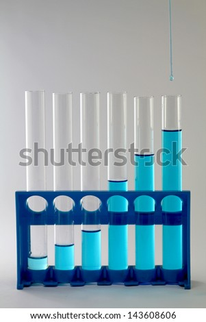 Drop in test tube lab