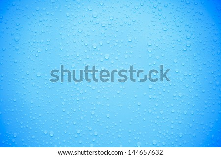 Drop of water for use background./Drop of water. - stock photo