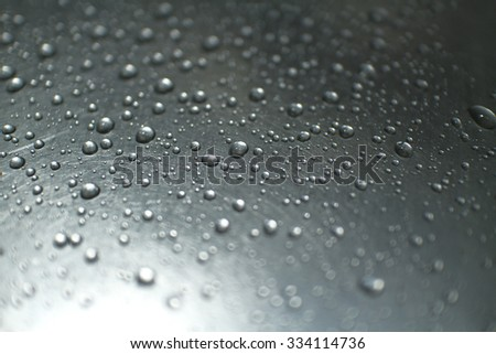 droplets on the sink #2 - stock photo
