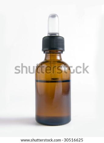 dropper bottle - stock photo