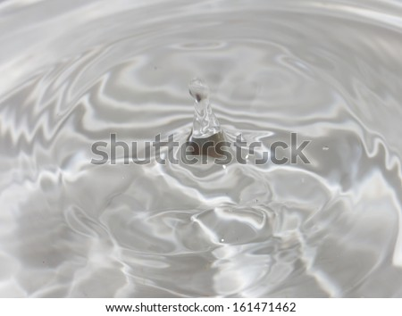 drops of water. beautiful background - stock photo