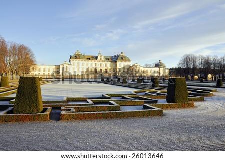 Drottningholm castle - stock photo