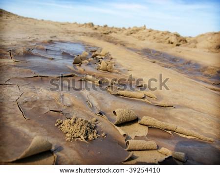 drought ground - stock photo