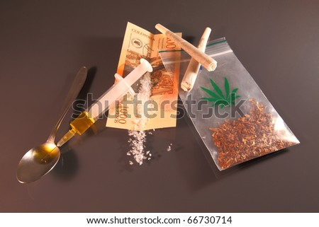 Drug ABC - stock photo