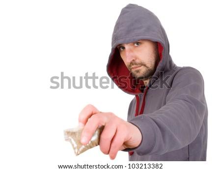 drug dealer - stock photo