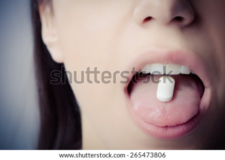 Drugs abuse and addiction tablets.Pharmaceutical science,conspiracy theory.Prescription drug abuse,health danger.Defense and preventive drug treatment against disease. - stock photo