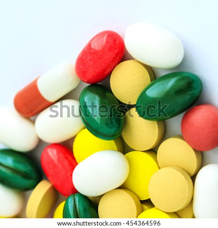 Drugs And Pills Background / Drugs and Pills - stock photo