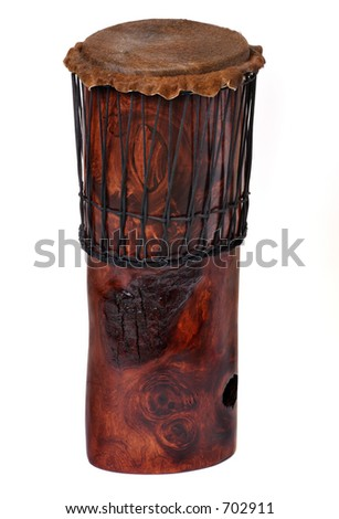 Drum standing - stock photo