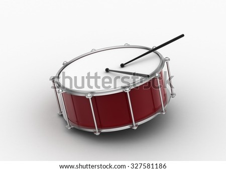 Drum with stick