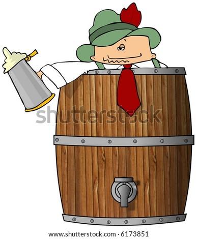 Clipart Illustration Female Barrel Racer Only Stock