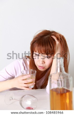 Drunkenness Woman