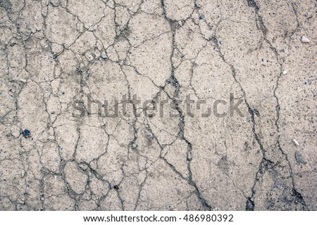 Dry cracked earth texture background