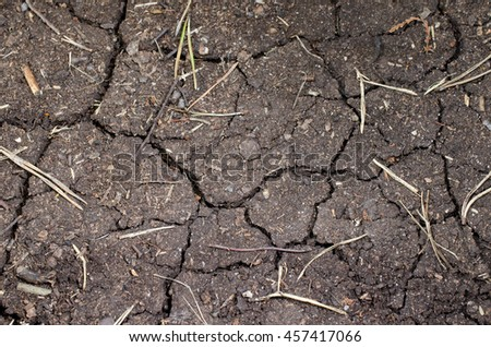 dry ground - stock photo