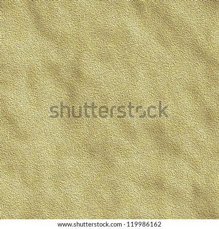 Dry sand seamless abstract background - stock photo