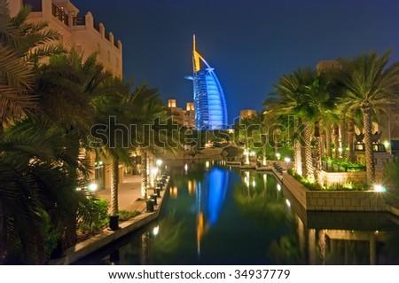 Dubai Burj al Arab - stock photo