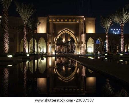 Dubai old town - stock photo