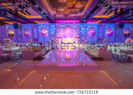 Dubai uae august 1 wedding flowers decoration stock photo 100 dubai uae august 1ding flowers decoration in intercontinental dubai festival junglespirit Gallery