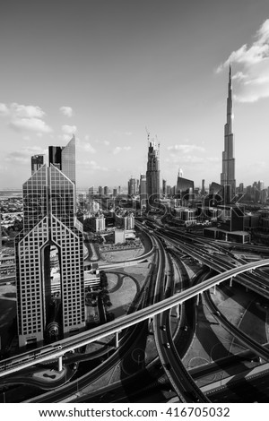 Dubai Executive Towers Stock Images Royalty Free Images Amp Vectors Shutterstock