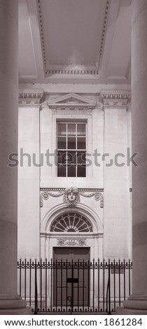 Dublin City, Ireland, Customs House - stock photo