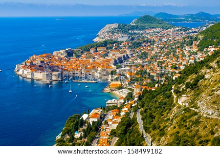 Dubrovnik, a Croatian city on the Adriatic Sea, it is one of the most prominent tourist destinations in the Mediterranean. Pearl of the Adriatic