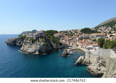 Dubrovnik Croatia - stock photo